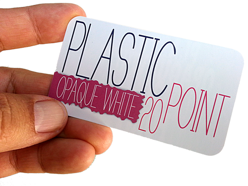 White plastic business cards with round corners graphicsman white plastic business cards with round corners reheart Choice Image